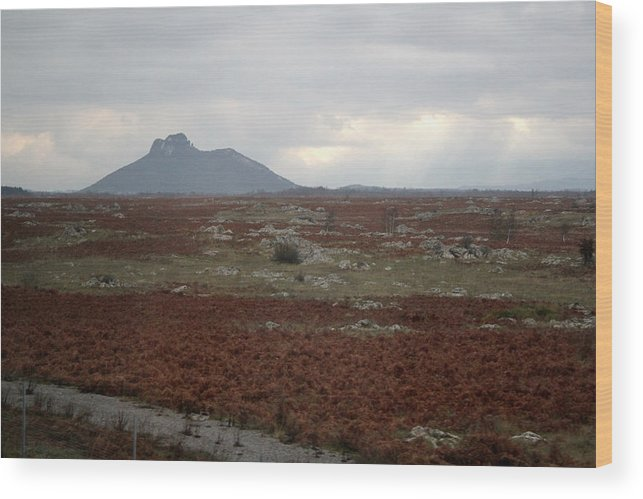 Croatia Wood Print featuring the photograph Lonely Mountain by Pilar Martinez-Byrne