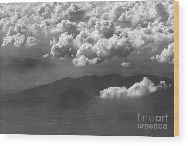 Landscape Wood Print featuring the photograph Mexico by Mychelle Tremblay