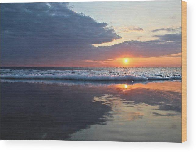 Wood Print featuring the photograph Mirror Image by Sandbridge Sunrise