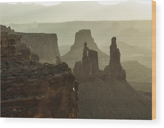 Canyon Landscape Wood Print featuring the photograph Natural Wonder by Bill Sherrell