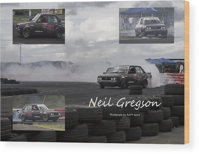 Cars Wood Print featuring the photograph Neil Gregson by Michael Podesta