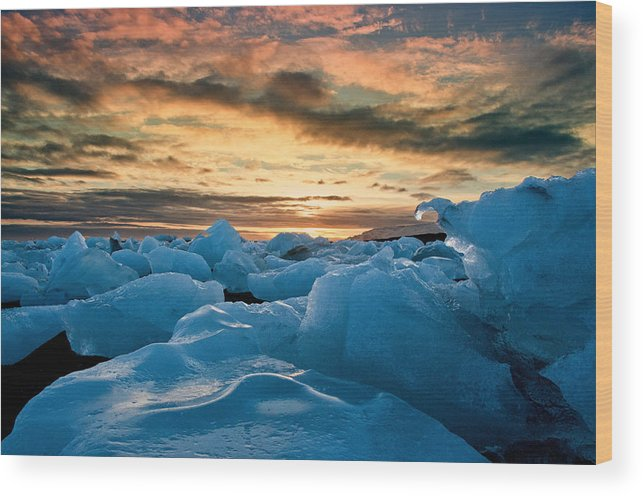 Iceland Wood Print featuring the photograph Northern Exposure by Jim Southwell