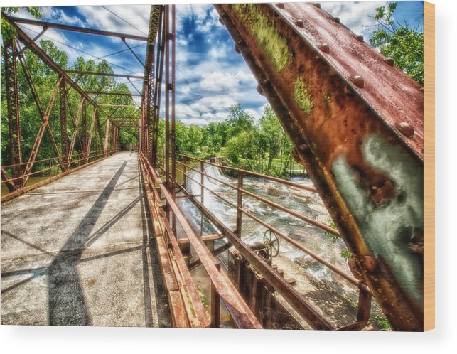Glendale Wood Print featuring the photograph Old Iron by Scott Koegler