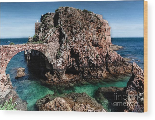 Berlengas Island Wood Print featuring the photograph On Another Planet by Edgar Laureano