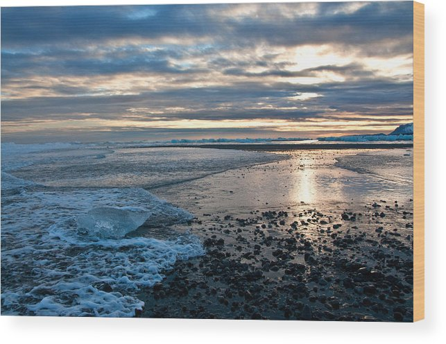 Beach Wood Print featuring the photograph On The Shore by Jim Southwell