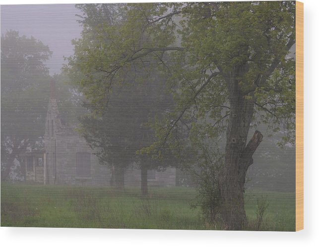Landscape Wood Print featuring the photograph Ontario Landscape 6 by Jim Vance