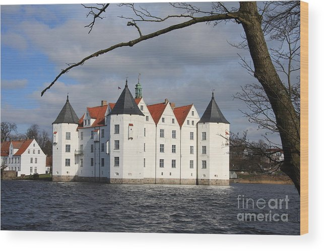 Palace Wood Print featuring the photograph Palace Gluecksburg - Germany by Christiane Schulze Art And Photography