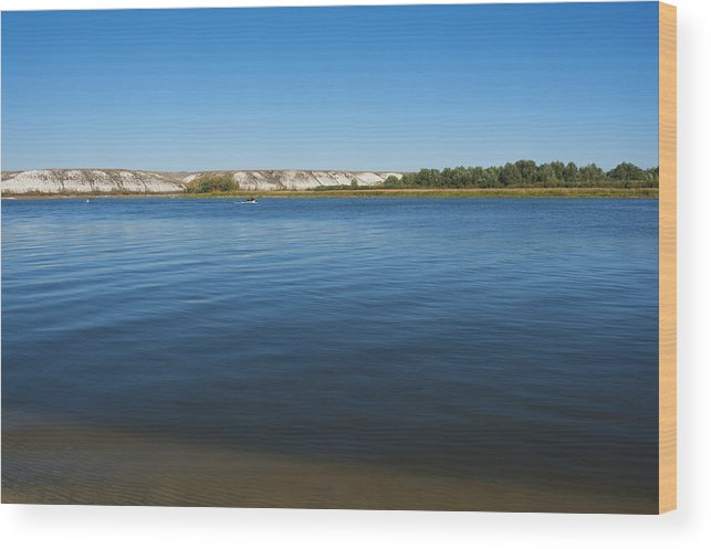 Beautiful Wood Print featuring the photograph River Don by Svetlana Sewell