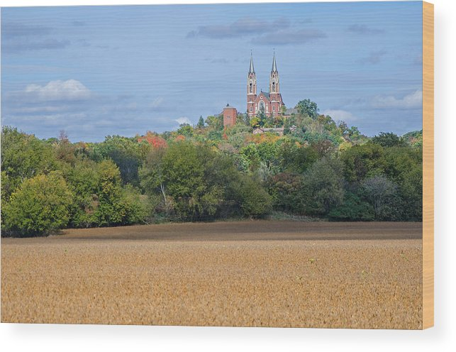 Serenity On High Wood Print featuring the photograph Serenity On High  by Susan McMenamin