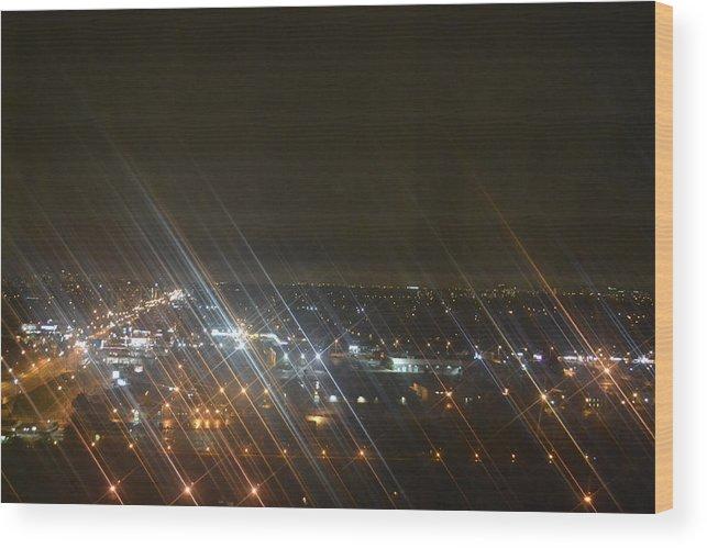 Light Wood Print featuring the photograph Slanted Light by Naomi Berhane