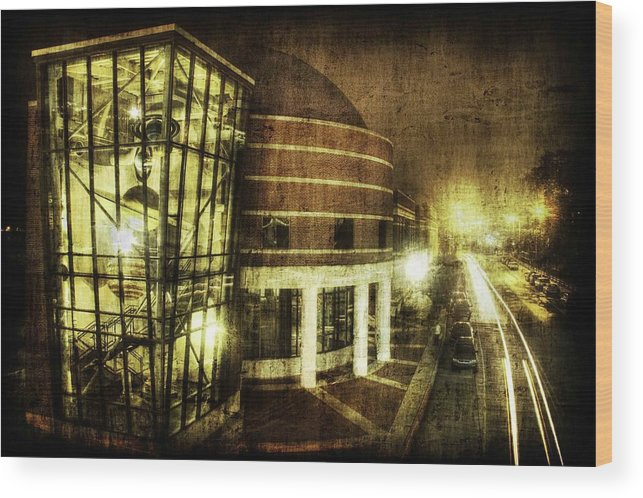 Planetarium Baton Rouge La Wood Print featuring the photograph Space by David Keith