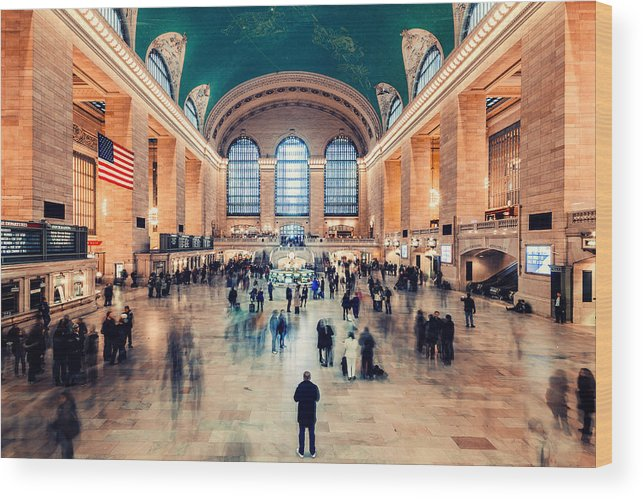 New York Wood Print featuring the photograph Stand Still by Maico Presente