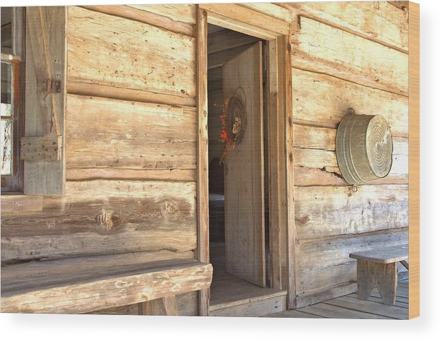 8197 Wood Print featuring the photograph The Front Porch by Gordon Elwell