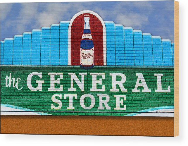 Photography Wood Print featuring the photograph The General Store by Paul Wear