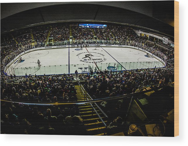 Championship Wood Print featuring the photograph The Rink by David Hahn