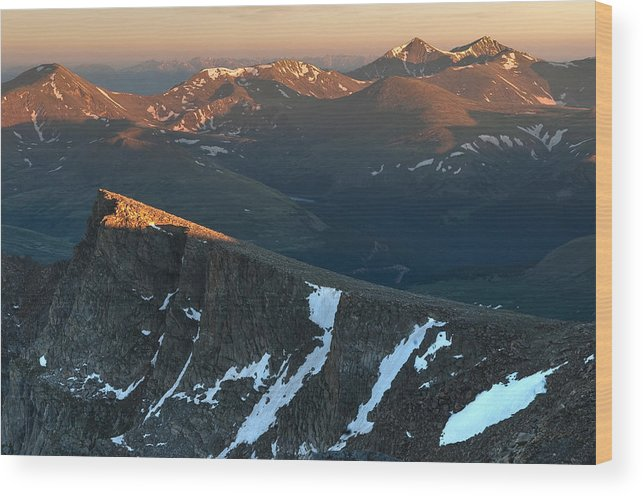 All Rights Reserved Wood Print featuring the photograph Tip Of The Tooth by Mike Berenson