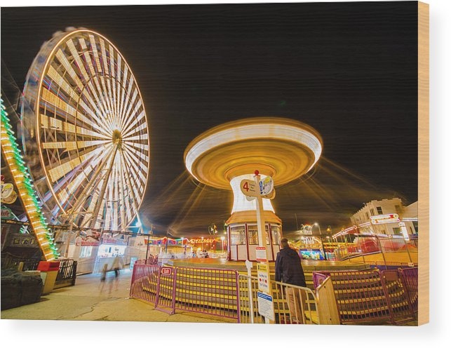 Rides Wood Print featuring the photograph Under His Watchful Eye by Kevin Jarrett