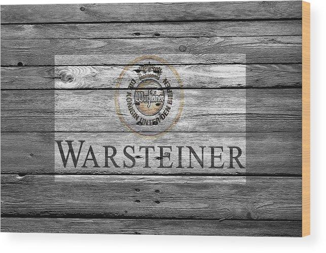 Warsteiner Wood Print featuring the photograph Warsteiner by Joe Hamilton