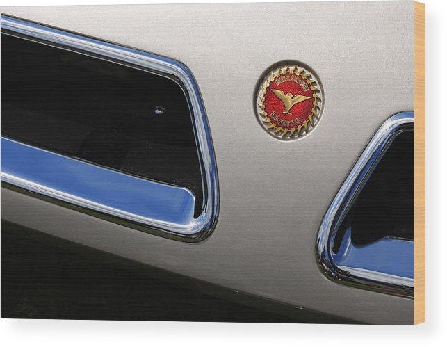 1966 Wood Print featuring the photograph 1966 Bizzarini 5300 Spyder by Gordon Dean II