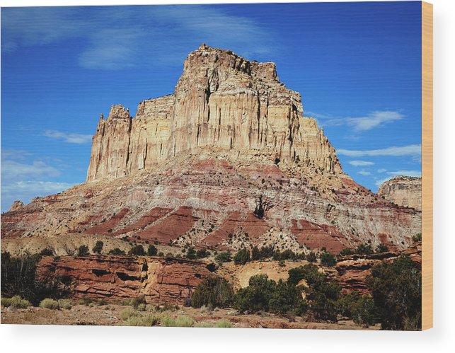 Southern Utah Wood Print featuring the photograph San Rafael Swell by Southern Utah Photography