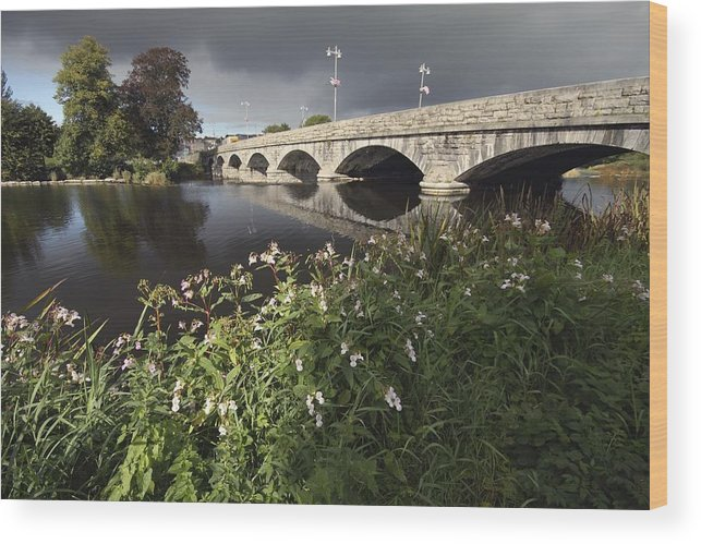 Munster Province Wood Print featuring the photograph Blackwater River In Munster Region by Trish Punch