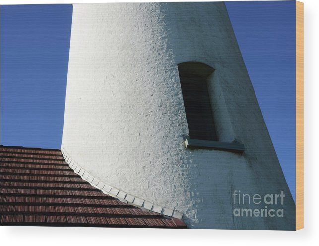 Pacific Ocean Wood Print featuring the photograph Cape Blanco Detail by Bob Christopher