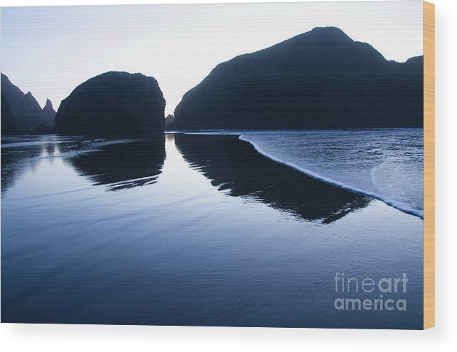 Pacific Ocean Wood Print featuring the photograph Cape Sebastian by Bob Christopher