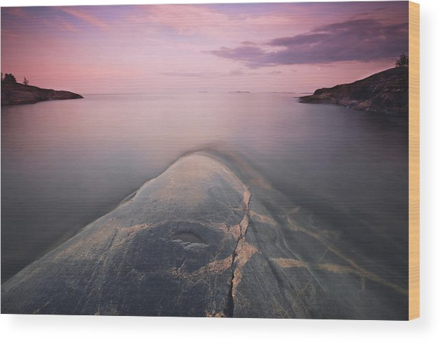 Landscape Wood Print featuring the photograph Dreams Of Granite Whales by Kirill Braga