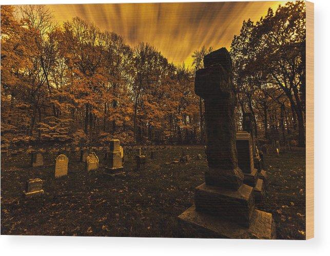 Www.cjschmit.com Wood Print featuring the photograph Final Destination by CJ Schmit