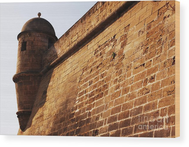 Almena Wood Print featuring the photograph Fort by Agusti Pardo Rossello