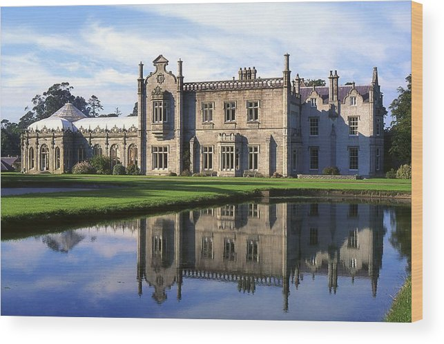 Bray Wood Print featuring the photograph Kilruddery House And Gardens, Co by The Irish Image Collection