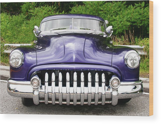 Automobile Wood Print featuring the photograph Lead Sled  7768a by Guy Whiteley