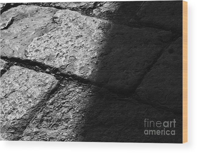 Losa Wood Print featuring the photograph Pavement by Agusti Pardo Rossello