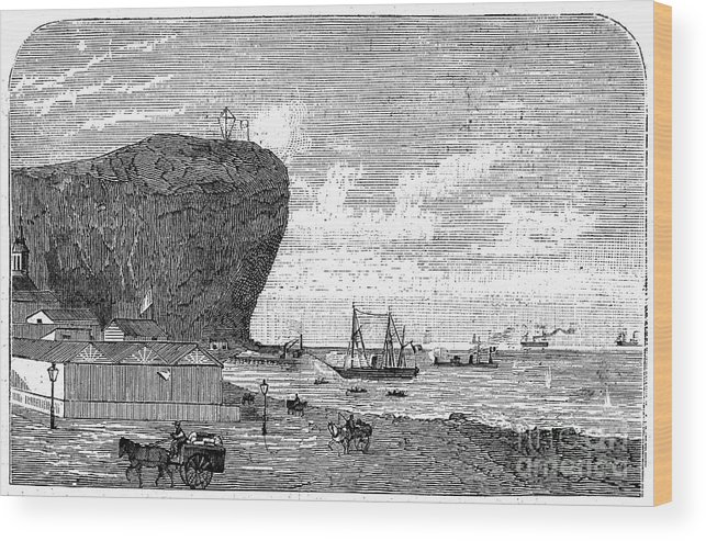 1880 Wood Print featuring the photograph Peru: Arica, 1880 by Granger