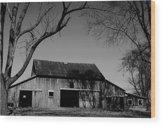 Barn Wood Print featuring the photograph Prime Real Estate by Off The Beaten Path Photography - Andrew Alexander
