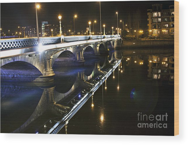 Wood Print featuring the photograph Quiet Nights by Alexander Photography