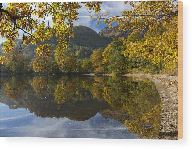 Patterdale Wood Print featuring the photograph Silent by Sebastian Wasek