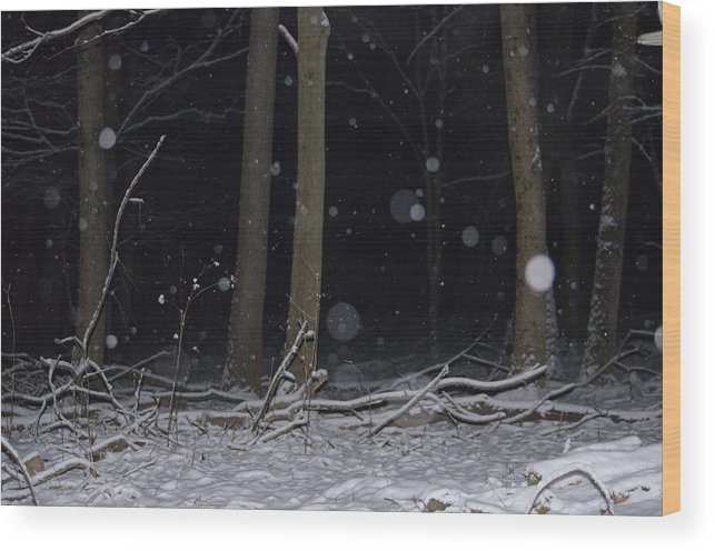 Landscape Wood Print featuring the photograph Softly by Sherri Strikwerda