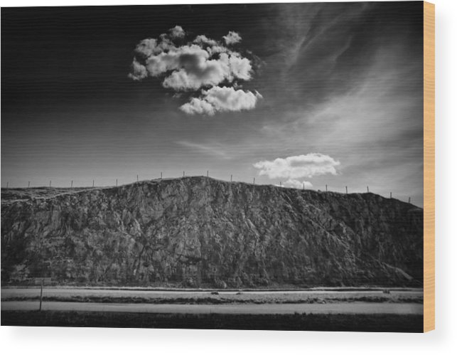 Cloud Wood Print featuring the photograph The Cloud by Dorit Fuhg