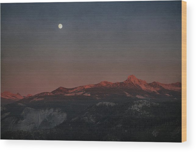 Yosemite Wood Print featuring the photograph You Held Me Tight by Laurie Search