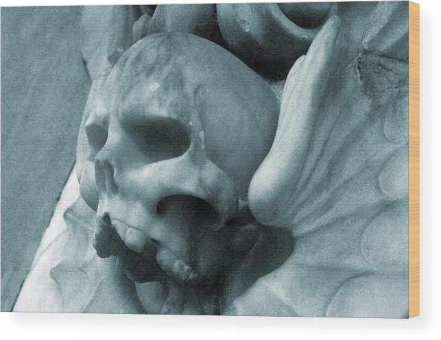Jez C Self Wood Print featuring the photograph Grey Death by Jez C Self