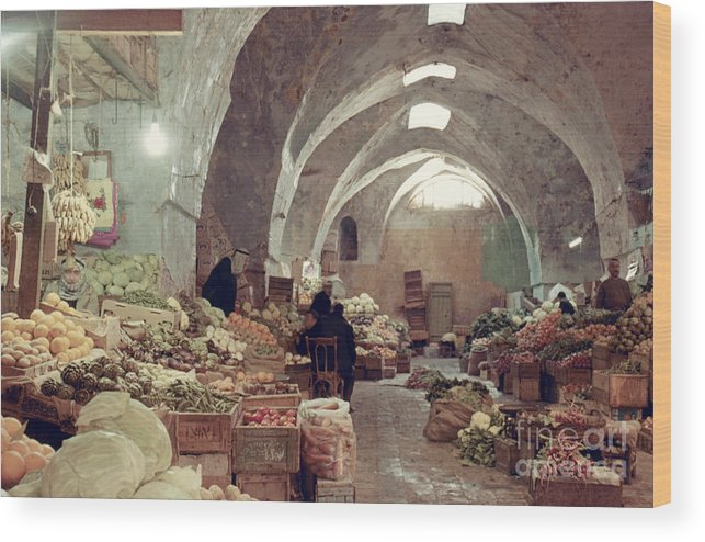 1970 Wood Print featuring the photograph Holy Land: Jerusalem by Granger