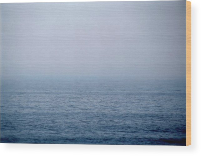 Landscape Wood Print featuring the photograph Horizontal Number 5 by Sandra Gottlieb