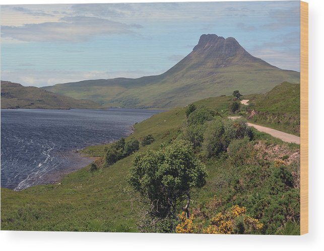 Loch Wood Print featuring the photograph Stac Pollaidh by Steve Watson
