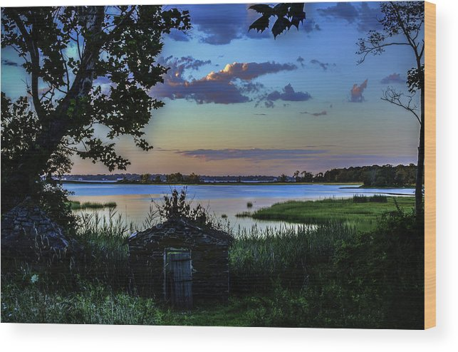 Sunset Wood Print featuring the photograph Sunset by Billy Bateman