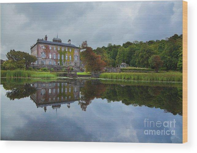 Westport House Wood Print featuring the photograph Westport House by Gabriela Insuratelu