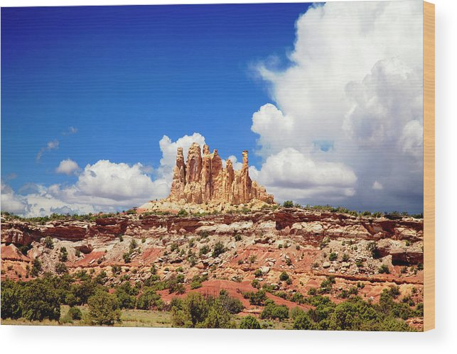 San Rafael Swell Wood Print featuring the photograph San Rafael Swell by Mark Smith