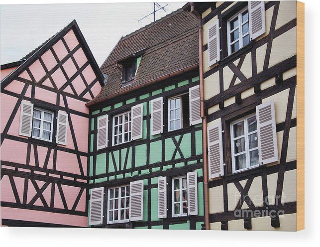 Colmar Wood Print featuring the photograph Colmar by LS Photography