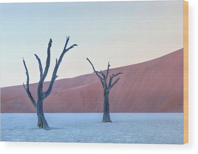 Sossusvlei Wood Print featuring the photograph Sossusvlei - Namibia by Joana Kruse