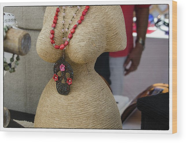 Mannequin Dolls Wood Print featuring the photograph Pizzazz by Marit Runyon